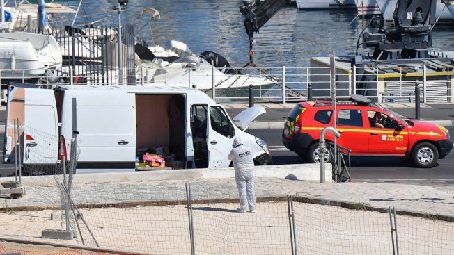 Killed after vehicle crashes into bus shelters in Marseille, France