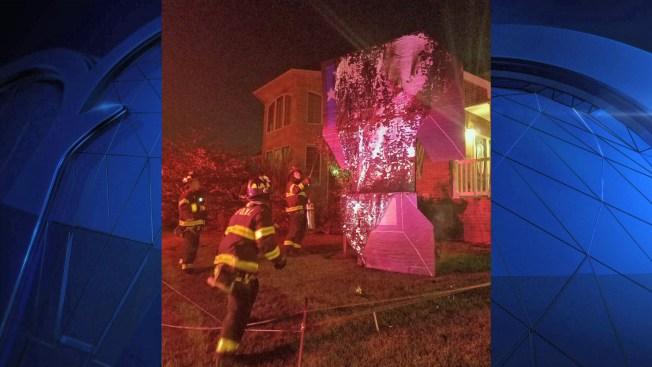 Trump Sculpture Set Ablaze in Conservative Stronghold of Staten Island