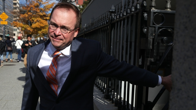 Mulvaney to Freeze Hiring at US Watchdog Agency