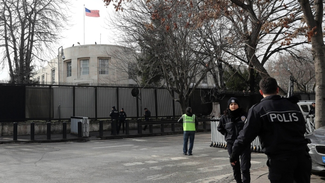 Turkey Detains 4 ISIS Suspects in Probe of US Embassy Threat