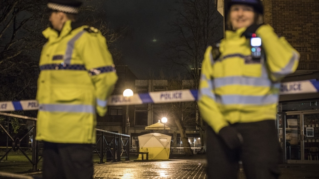 Russian Ex-Spy, Daughter Poisoned With Nerve Agent, UK Police Say