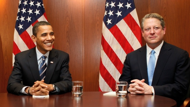 Obama Meets With Gore for Green Expertise