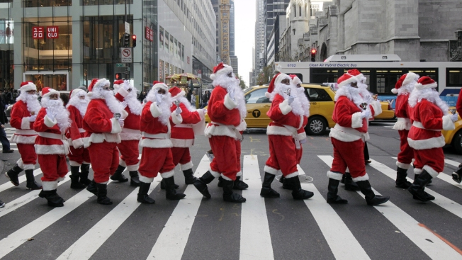 Ho, Ho, No! NYC Santa Parade Comes to an End