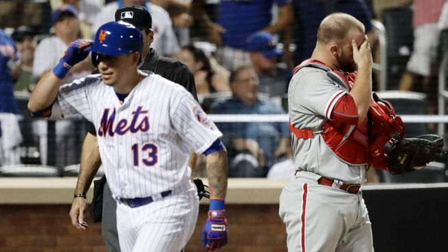 Hellickson's streak ends, Phillies routed by Mets again