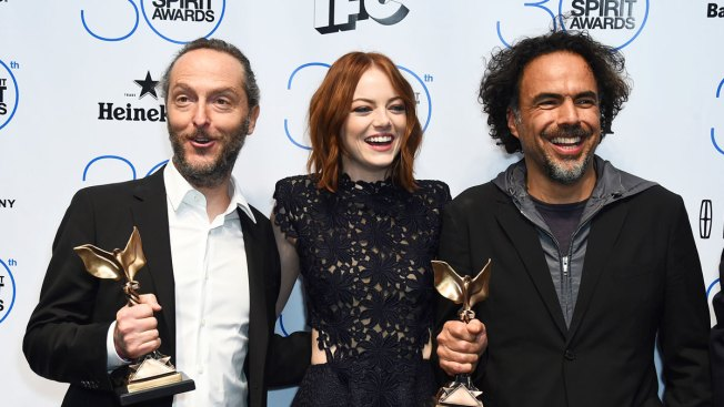 """Birdman,"" Michael Keaton Win at Spirit Awards"