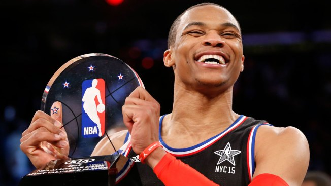 Westbrook Scores 41 Points at NBA All-Star Game