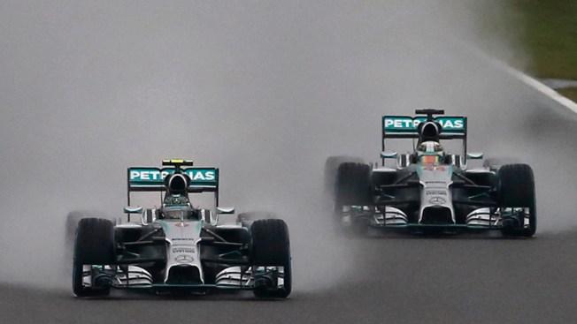 Hamilton Wins Japanese GP Marred by Bianchi Crash