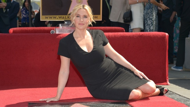 Kate Winslet Honored With Star on Hollywood Walk of Fame