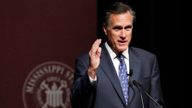 Mitt Romney to Speak on 2016 Presidential Race