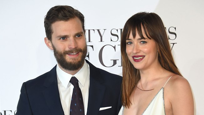 Jamie Dornan, Dakota Johnson Film 'Fifty Shades' Honeymoon Scene