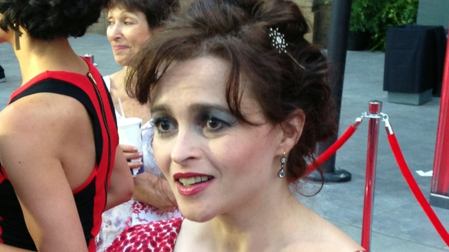 Helena Bonham Carter Reveals Why She Doesn't Use a Stylist--Watch Now!