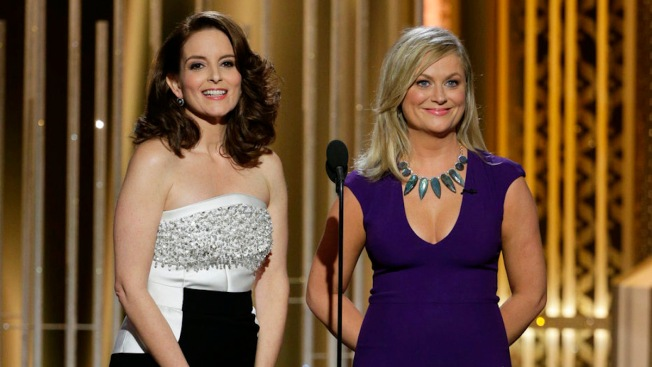 Tina Fey and Amy Poehler's Gutsy Globes Goodbye