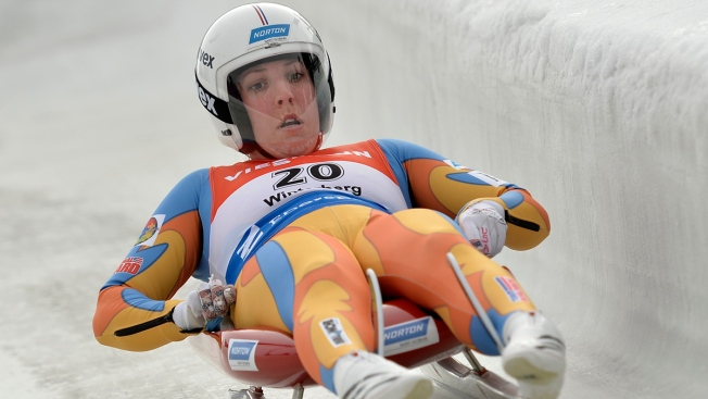 U.S. Luger Hamlin Copes as She Readies for Sochi