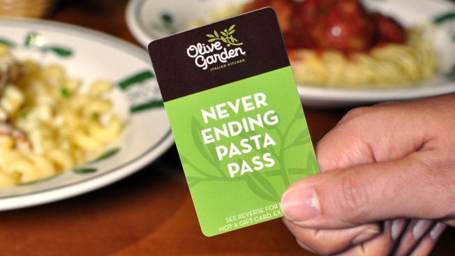 Olive Garden Brings Back 'Pasta Pass'