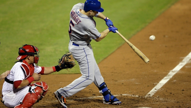 Wright Homers in Return, Mets Top Phillies 6-4