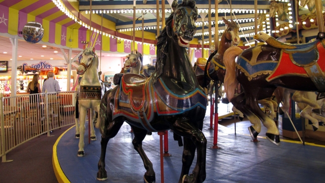 Popular Carousel to Stay on Jersey Shore