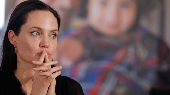 """Angelina Jolie Brings Awareness to World Refugees: """"We Must Protect Them"""""""