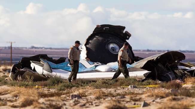 Disaster Over the Desert: Virgin Galactic Pilot Describes Harrowing Crash