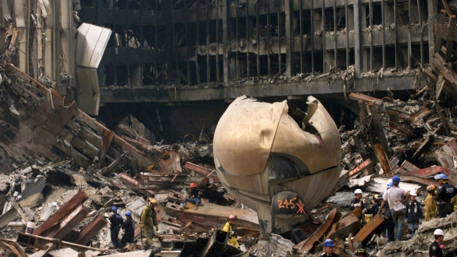 Battered Bronze Sphere Returning to World Trade Center Site