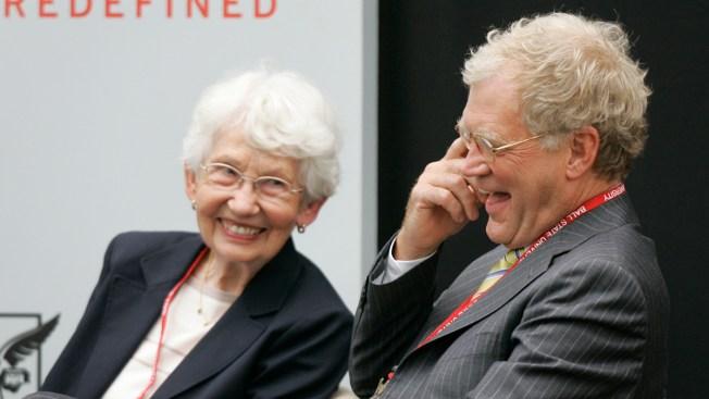 David Letterman Eulogizes Mother, Dorothy Mengering