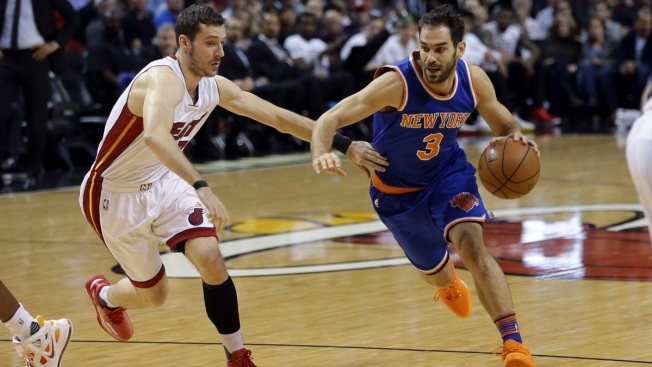 Knicks End Streak of 8 Straight Losses to Heat, 98-90