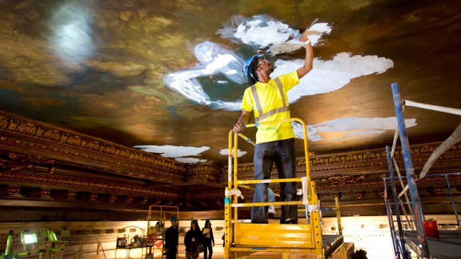New York Public Library Installs Recreation of Century-Old Mural