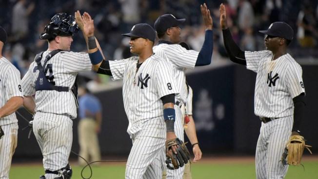 Gregorius' 4 RBIs Back Severino as Yankees Beat Orioles 8-2