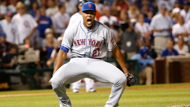 Mets Beat Chicago Cubs 2-1