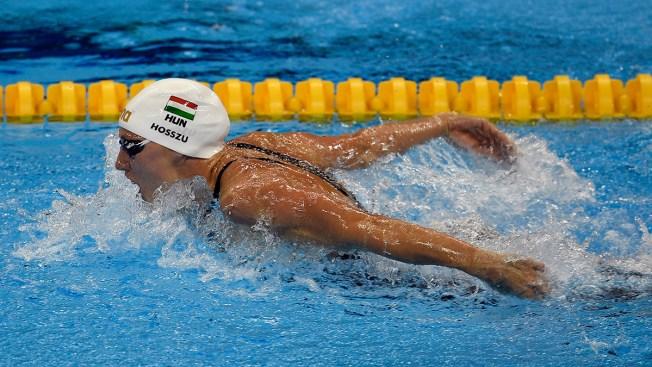 Hosszu Sets World Record in Women's 400 IM