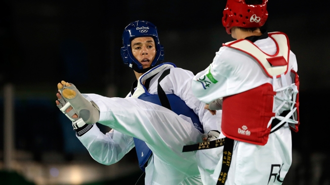 Taekwondo Star Steven Lopez Falls in Quartefinals in Record 5th Olympics