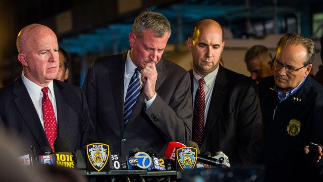 De Blasio Approval Rating at 17-Month High After Bombings
