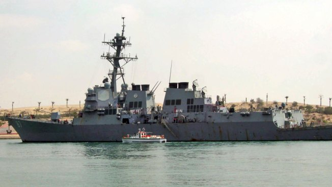 Official: Yemen Rebels Fire Two Missiles at US Ship; Both Miss