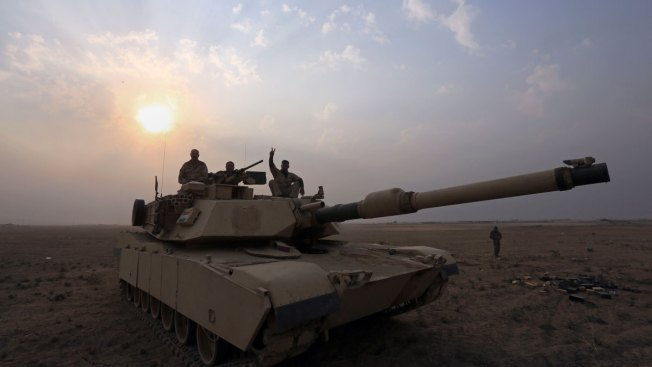 Iraqis Press Toward Mosul, Face Questions About Airstrike