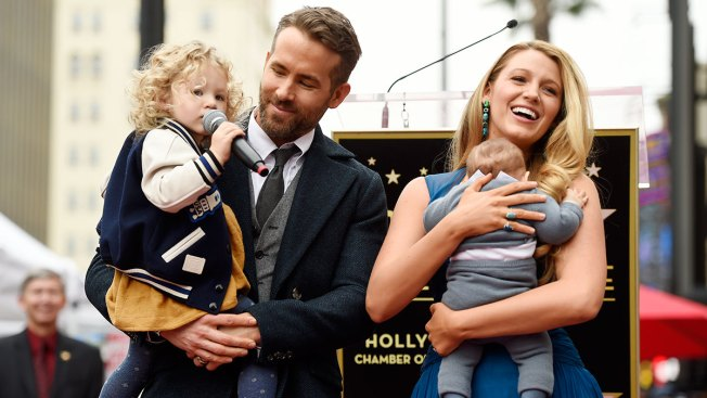 Ryan Reynolds and Blake Lively's Kids Make Their Public Debut at Hollywood Walk of Fame Ceremony