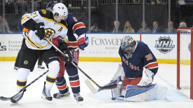 Late Goal by Jesper Fast Gives Rangers 2-1 Win Over Bruins