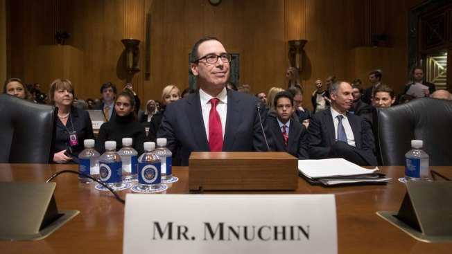 Trump and Mnuchin Say Focus Will Turn to Tax Reform