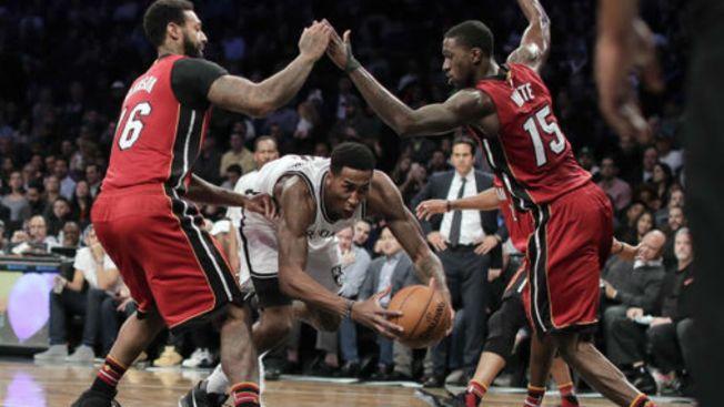 Nets Fall to Heat 109-106