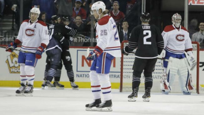Ladd Scores Twice, Islanders Beat Canadiens 3-1