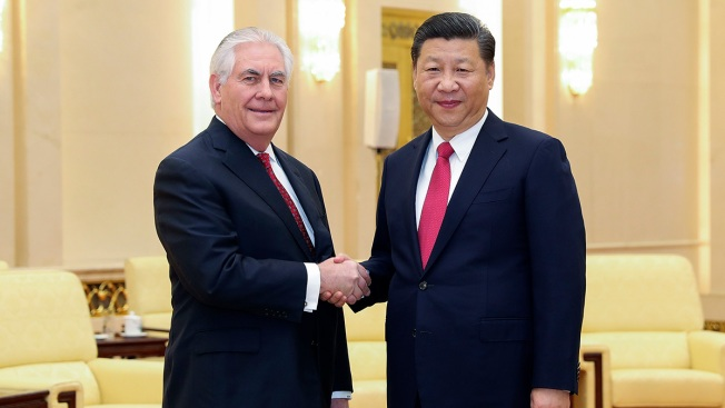 Tillerson Lauds China-US Contacts in Meeting With Leader Xi