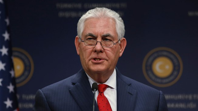 Tillerson Meets With Wife of Jailed American Pastor in Turkey