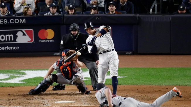 Yankees Bash Astros in Game 5, Take 3-2 ALCS Lead