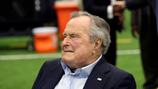 Former President George H.W. Bush Discharged From Houston Hospital