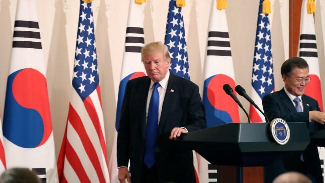 US, S. Korea Start Drills in Show of Force Against N. Korea