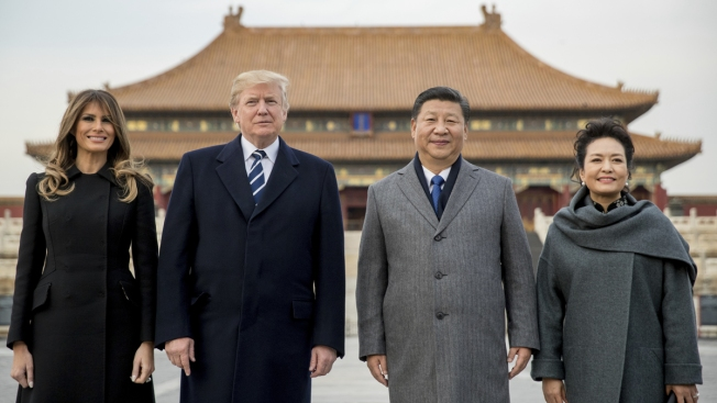 Trump to Push China on Trade, N. Korea During 2-Day Visit