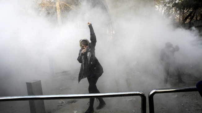 Iran Protests Have Violent Night; At Least 20 Dead Overall