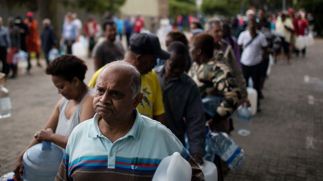 Cape Town's Water Crisis Highlights City's Rich-Poor Divide