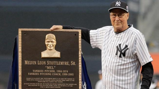 New York Baseball Legend Mel Stottlemyre Dead at 77