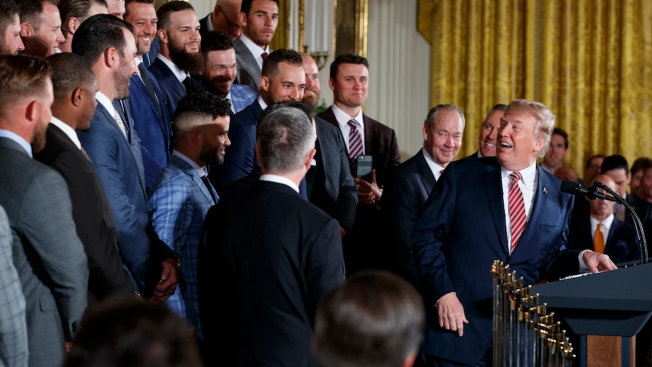 Trump Recognizes World Series Champion Houston Astros