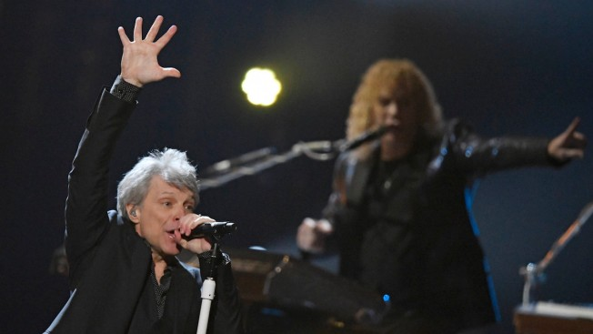Bon Jovi Reunites to Enter Rock & Roll Hall of Fame