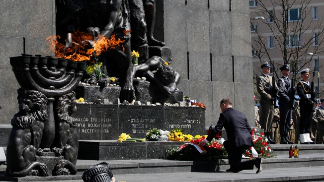Poland Marks 75th Anniversary of Uprising in Warsaw Ghetto